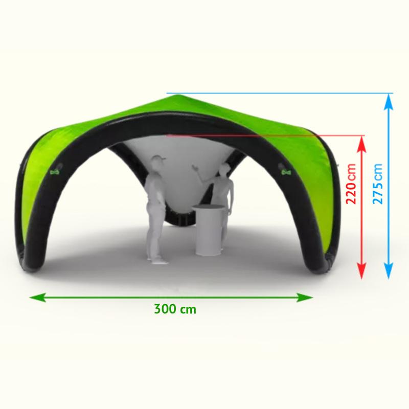 nafukovaci-stan-tripod-3m-rozmery